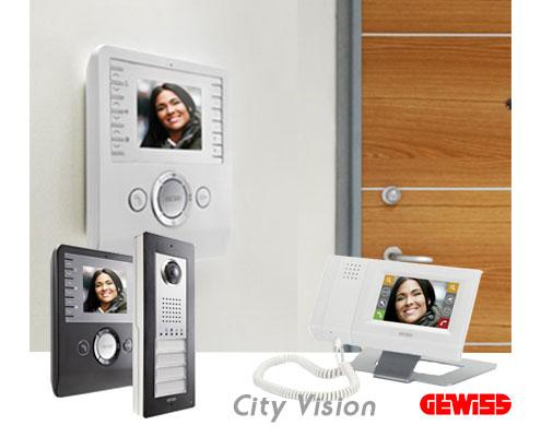 ایفون تصویری City-Vision شرکت گویس ایتالیا  domotics City Vision 2