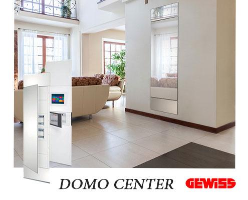 DOMO-CENTER شرکت گویس ایتالیا  domotics DOMO CENTER