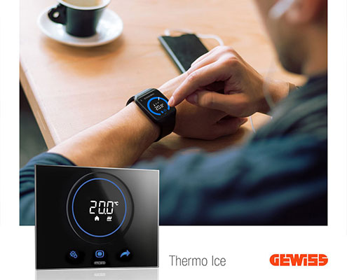 Thermo-Ice-Gewiss شرکت گویس ایتالیا  domestic-devices Thermo Ice Gewiss