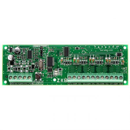 ماژول توسعه زون paradox-zx8 پارادوکس شرکت پارادوکس APR3-ZX8  ماژول توسعه 8 زون zx 8 450x450