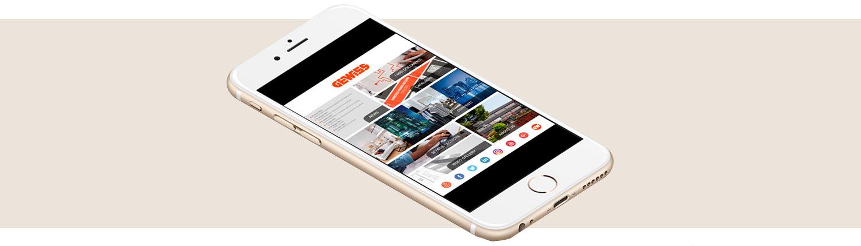 Gewiss company Gewiss App baner 1