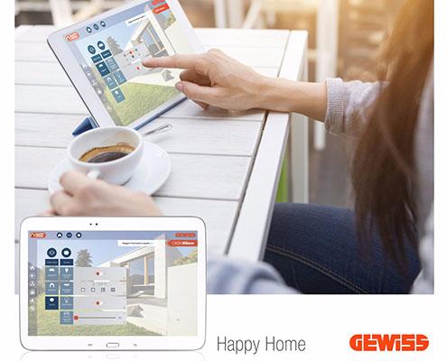 اپلیکیشن Happy-Home شرکت گویس ایتالیا